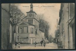 MARGENCY - La Mairie Et Grande Rue - Other Municipalities