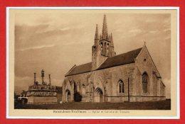 29 - SAINT JEAN - TROLIMON -- Eglise Et Calvaire De.... - Saint-Jean-Trolimon