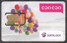 Georgia Geosell Lai Lai GSM SIM Card With Chip Not Used - Georgia