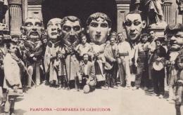 PAMPLONA COMPARSA DE CABEZUDOS Spanien / Spain / Espania Fête Carnaval - Unclassified