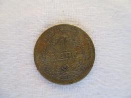 Spielmarke 1 Reich Mark (Lauer) + 1 Deutsche Marke - Casino