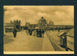 BELGIUM  -  Ostende  Vue Sur Le Palace Hotel  Unused Vintage Postcard - Oostende