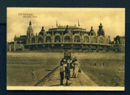 BELGIUM  -  Ostende  Kursaal Face  Unused Vintage Postcard - Oostende
