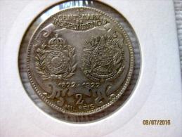 Brésil 200 Reis 1922 Centenaire De L'indépendance - Brazil
