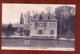 1 Cpa L Etang La Ville Le Chateau - Autres Communes