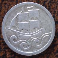 (J) DANZIG: Silver Half Gulden 1923 XF+ (4557) SALE!!!!!!! - Monnaies
