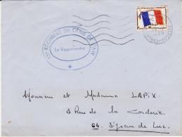 Lettre - 15e REGIMENT DU GENIE DE L'AIR - Toul 1969 (Lot LG 32) - Postmark Collection (Covers)