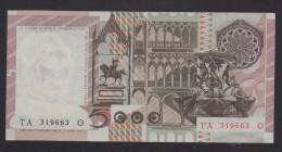 REPUBBLICA ITALIANA  L. 5000 ANTONELLO DA MESSINA   SERIE  TA  03-1-1982  QFDS - [ 2] 1946-… : République