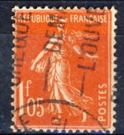 Francia 1924 - 26 Seminatrice (fondo Pieno) F. 1,05 Vermiglio Usato Catalogo € 5,25 - France