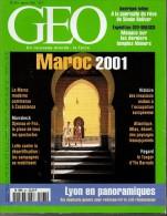 Geo N° 263 - Janvier 2001 - Maroc / Cambodge / Simon Bolivar / Lyon / Bête Du Gévaudan / Musée Guimet - BE - Tourism & Regions