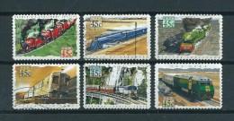 1993 Australia Complete Set Treinen,trains,railways Self-adhesive Used/gebruikt/oblitere - 1990-99 Elizabeth II