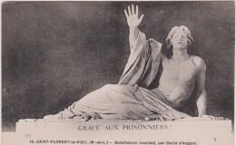 Maine  Et  Loire  :  SAINT  FLORENT  Le  Vieil  ,  Bonchamps  Mourant  , Par  David  D '  Angers - France