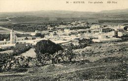 V1599 Cpa Mateur - Vue Générale - Tunisie