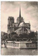ZZ63     Paris - Abside De Notre Dame Et Square De  Archevechè - France