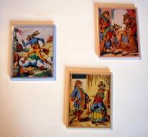 """Lot De 3 Magnets """"Les Fables De La Fontaine"""" - Magnets"""
