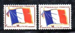W77 - FRANCIA 1964 , Servizio Il N. 13  ***  MNH : Due Esemplari - Servizio