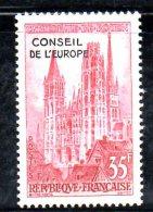 W268 - FRANCIA 1958 , Servizio EUROPA N. 16  *** MNH - Servizio