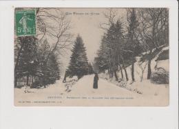 CPA - BRUYERES - Promenade Vres La Glacière Par Les Grandes Neiges - Bruyeres