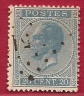 MW-2240      OCB 18      PTS  51  BRACQUEGNIES - 1865-1866 Linksprofil