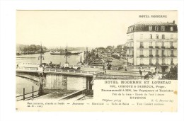 M.D. 1003 - Bayonne - Hôtel Moderne Et Loustau MM Chicoye & Dubroca, Prpr. - Bayonne