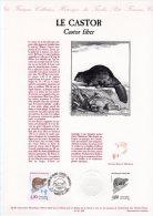 """Document Officiel De 1991 N° 32-91 """" ESPECES PROTEGEES : LE CASTOR """" N° YT 2723. DPO - Postdokumente"""