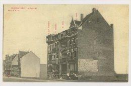 MIDDELKERKE : La Digue H - Les Naïades, Mirador, Dora, Delf - Ed. A. Sugg. 8 N.56 (f7710) - Middelkerke