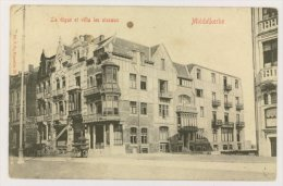 MIDDELKERKE : La Digue Et Villa Les Oiseaux, 1910 (f7716) - Middelkerke