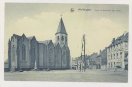 MIDDELKERKE : Eglise Et Monument Des Morts - Publicité BYRRH, Cigarettes St-Michel (f7717) - Middelkerke