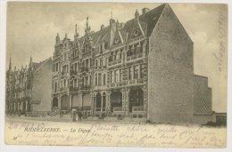 MIDDELKERKE : La Digue, 1903 (f7725) - Middelkerke