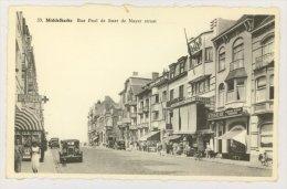 MIDDELKERKE : Rue Paul De Smet De Nayer - Apotheek, Grand Bazar, A.Vergaerde : Peinture, Tapisserie (f7728) - Middelkerke