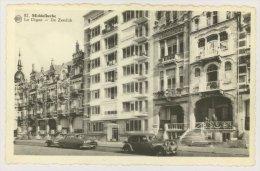 MIDDELKERKE : La Digue, Années 50 - Automobiles (f7760) - Middelkerke