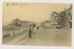 MIDDELKERKE : Vue Sur La Digue, 1925 (f7766) - Middelkerke