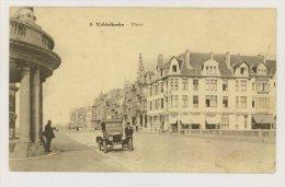 MIDDELKERKE : Digue - Automobile, Boutique Aux Galeries Parisiennes (f7769) - Middelkerke