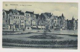 MIDDELKERKE : La Digue Et Le Kiosque - Stand Croix Rouge (f7774) - Middelkerke