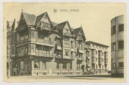 MIDDELKERKE : Hôtel Jeanne, 1950 - Pub De L'Hôtel Au Dos (f7783) - Middelkerke