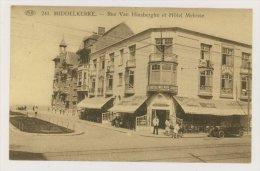 MIDDELKERKE : Rue Van Hinsberghe Et Hôtel Melrose (f7784) - Middelkerke