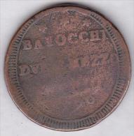 VATICAN / STATO PONTIFICIO. (2 ½) Due E Mezzo Baiocchi  1796 - Vatican