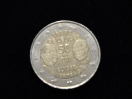 2 Euros France 2013 - 50 Anniversaire Du Traité De L' élysée - France