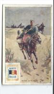 Prix Cassé - MILITARIA - Armée BELGE - Chasseur à Cheval - Chromo Ancien - Belgium