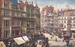 TUCK #7219; LONDON, England, United Kingdom; King William Street, 00-10s - London