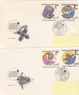 FDC - 1970 Exploration Espace Space (lot Of 2) - FDC