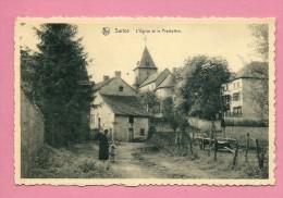 C.P. Surice   :   L'  Eglise  Et Le  Presbytère - Philippeville