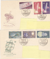 FDC - 1961 Exploration Espace Space (lot Of 2) - FDC