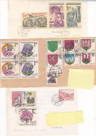 Exploration Espace Space (lot Of 4) Postcard, Letter... - Tchécoslovaquie