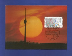 BRD 1991  Mi.Nr. 1553 , Internationale Funkausstellunf  IFA - Maximum Karte - Ausgabetag 09.07.1991 - Weltausstellung