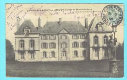 CPA Château Du Launay En Lucuon Comte De Monti De Rezé - Other Municipalities
