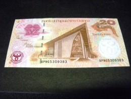 PAPOUASIE Nouvelle Guinée 20 Kina 2008,UNC, Pick N° 36, PAPUA NEW GUINEA Commemorative Issue - Papouasie-Nouvelle-Guinée