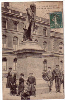 SAINT-QUENTIN: Statue De Henri Martin - Saint Quentin