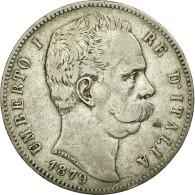 Monnaie, Canada, Elizabeth II, Dollar, 1879, Royal Canadian Mint, Ottawa, TTB - 1878-1900 : Umberto I