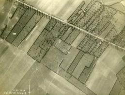 France WWI Front De L'Aisne Bataille De La Selle Reconnaissance Aerienne Ancienne Photo Octobre 1918 - War, Military